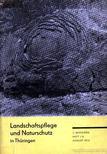 Több német szerző - Landschaftspflege und Naturschutz in Thüringen [antikvár]