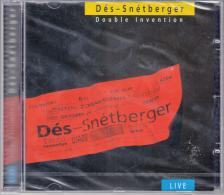 DÉS-SNÉTBERGER - DOUBLE INVENTION CD
