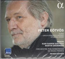 EÖTVÖS PÉTER - CELLO CONCERTO GROSSO - SPEAKING DRUMS CD EÖTVÖS PÉTER