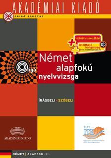 - Origó - Német alapfokú nyelvvizsga - virtuális- írásbeli szóbeli
