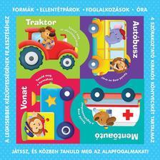 Puzzle-könyvek - Közlekedési eszközök