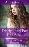 Austin Anna - Disciplined For Her Sins [eKönyv: epub,  mobi]