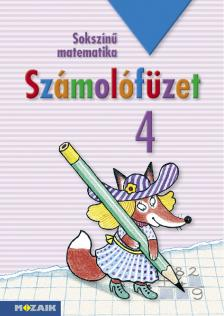 - MS-1743 SZÁMOLÓFÜZET 4. - SOKSZÍNŰ MATEMATIKA