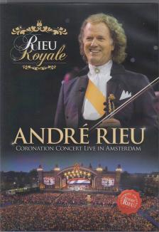 ANDRÉ RIEU ROYALE DVD - CORONATION CONCERT LIVE IN AMSTERDAM -