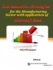 Murugappan Palani - Cost Reduction Strategies for the Manufacturing Sectorwith Application of Microsoft Excel [eKönyv: epub,  mobi]