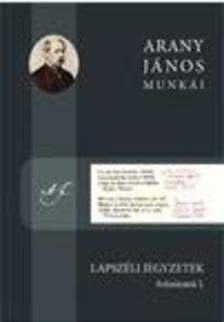 Arany János - Lapszéli jegyzetek - Folyóiratok I.