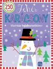Fehér karácsony - Matricás foglalkoztató<!--span style='font-size:10px;'>(G)</span-->