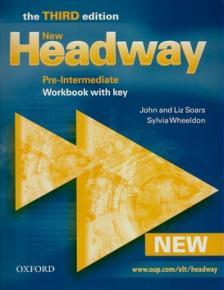 LIZ & JOHN SOARS - NEW HEADWAY PRE-INTERMEDIATE WB + KEY - THE THIRD EDITION