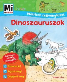 - Mi MICSODA Junior Matricás rejtvényfüzet - Dinoszauruszok