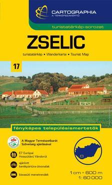 Cartographia Kiadó - ZSELIC TURISTATÉRKÉP 1:60000
