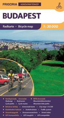 - Budapest kerékpáros térkép