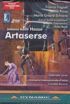 HASSE - ARTASERSE,2 DVD