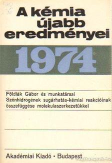 Csákvári Béla - A kémia újabb eredményei 1974. 20.kötet [antikvár]