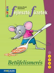 KRISTON-BORDI ZSUZSANNA - DIFER Fejlesztő füzet - Betűtanulás (MS-9333U)