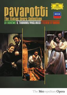 Pavarotti - PAVAROTTI - ITALIAN OPERAS  3DVD