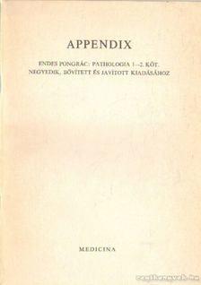 Dr. Endes Pongrác - Appendix [antikvár]