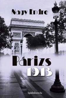 Nagy Endre - Párizs, 1913 [eKönyv: epub, mobi]