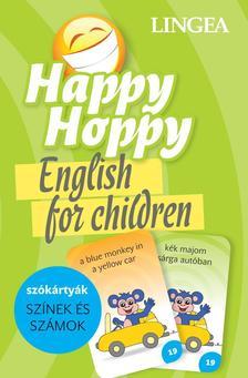 - Happy Hoppy Szókártyák - színek és számok