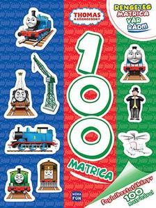 - Thomas, a gőzmozdony - Foglalkoztatókönyv 100 matricával