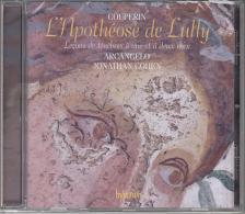 COUPERIN - L'APOTHÉOSE DE LULLY,LECONS DE TÉNÉBRES,CD