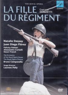 DONIZETTI - LA FILLE DU RÉGIMENT DVD DESSAY, FLÓREZ