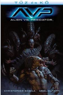 Chris Robertson, Patric Reynolds - Aliens: Tűz és kő - Aliens és Predator 2. (képregény)