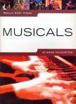 - MUSICALS,  20 SHOW FAVOURITES FOR REALLY EASY PIANO WITH TEXT
