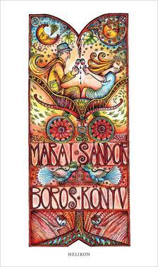 MÁRAI SÁNDOR - Boros könyv