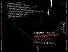 Bakonyi Tibor - Megsimogatom a világot