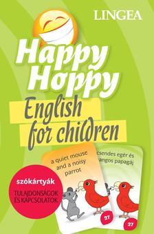 - Happy Hoppy Szókártyák - tulajdonságok és kapcsolatok