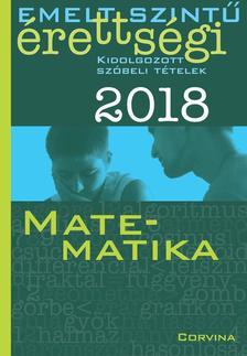 SIPOSS ANDRÁS - Emelt szintű érettségi - Matematika 2018