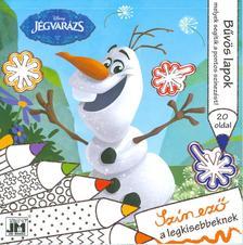 - Disney Jégvarázs - csillám színező 20x20