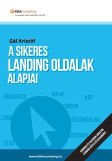 Gál Kristóf - A sikeres landing oldalak alapjai