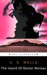 JKL Classics H. G. Wells, - The Island Of Doctor Moreau [eKönyv: epub,  mobi]