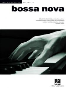BOSSA NOVA. 20 SELECTIONS JAZZ PIANO SOLOS. VOL. 15