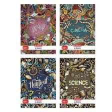 9542697 - Füzet A4/40 hibridlakkos kockás Doodle