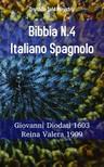 TruthBeTold Ministry, Joern Andre Halseth, Giovanni Diodati - Bibbia N.4 Italiano Spagnolo [eKönyv: epub,  mobi]