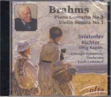 BRAHMS - PIOANO CONCERTO NO.2 - VIOLIN SONATA NO.1 CD SVIATOSLAV RICHTER, OLEG KAGAN