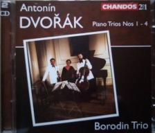 DVORAK - PIANO TRIOS, 2 CD