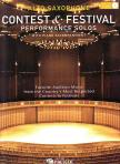 - CONTEST & FESTIVAL PERFORMANCE SOLOS FOR ALTO SAX. WITH PIANO ACCOMPANIMENT