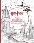 Harry Potter - Mágikus helyek és karakterek színezőkönyv<!--span style='font-size:10px;'>(G)</span-->