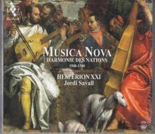 MUSICA NOVA CD JORDI SAVALL