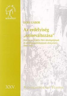 Egry Gábor - AZ ERDÉLYISÉG