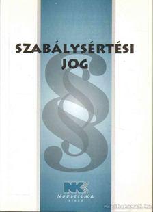 dr. Szilner György - Szabálysértési jog [antikvár]