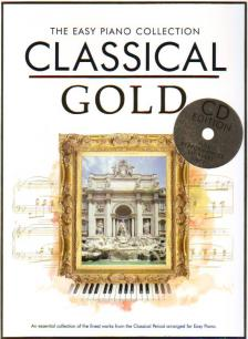 CLASSICAL GOLD THE EASY PIANO COLLECTION + CD