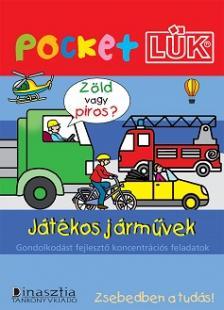 - LDI-906 JÁTÉKOS JÁRMŰVEK - POCKETLÜK FÜZETEK