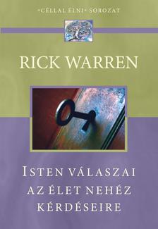 Warren, Rick - Isten válaszai az élet nehéz kérdéseire