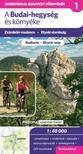 . - Budai-hegység kerékpáros térkép