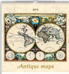 19T0092-001 - ANTIQUE MAPS FALINAPTÁR - 2019