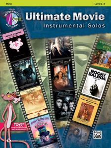 ULTIMATE MOVEI INSTRUMENTAL SOLOS, FLUTE PLAY-ALONG LEVEL 2-3 + CD